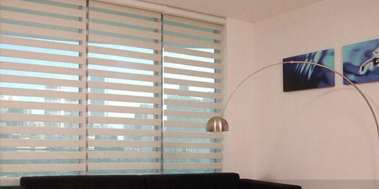 Illutions Zebra light Filtering Shades