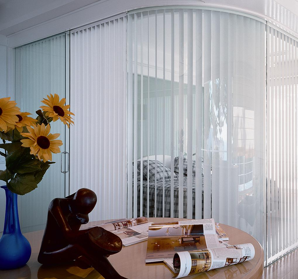 Vertical Blinds en tela