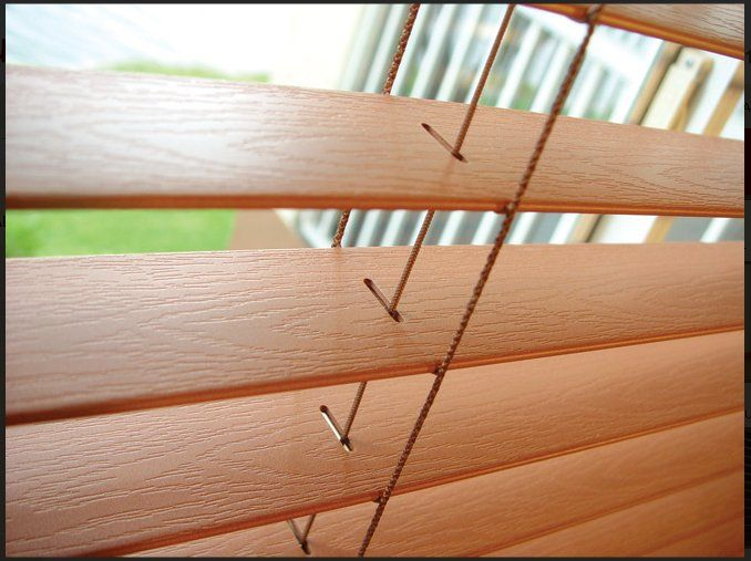 "2""Faux wood Blinds"