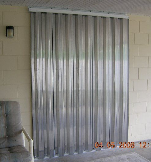 Hurricane Shutters Panels 30 Gauge Steel Panels