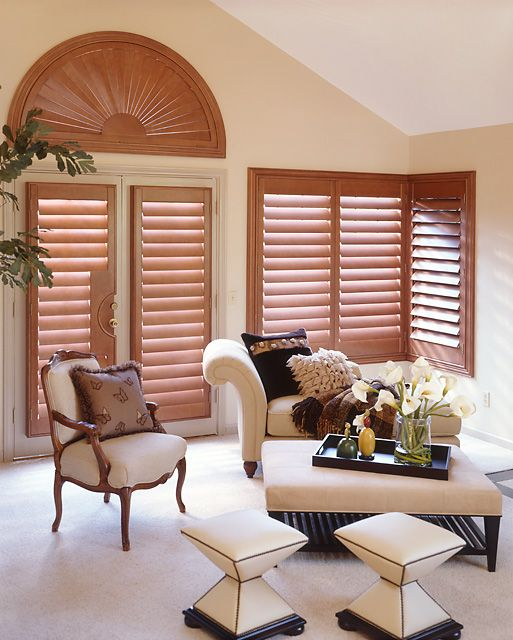 Wood Shutters - Varnisados