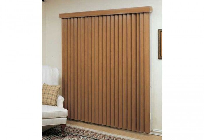 Vertical Blinds Imitation wood